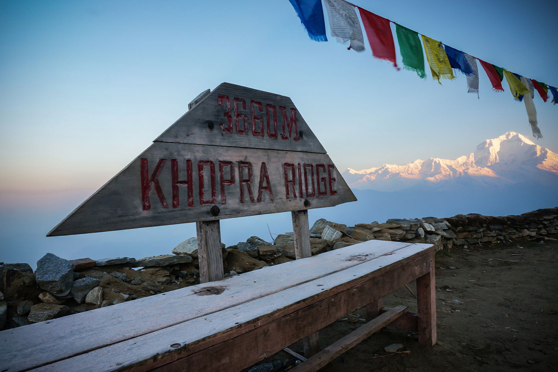 Khopra Danda and Khayer Lake Trek